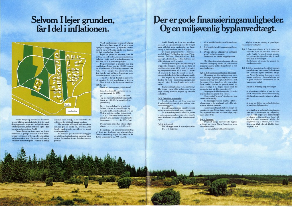 Salgsbrochure for Arrild-ferieby (side 7-8)